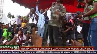 Zlatan performs in Agbor @ the Regina Daniel's Children's Day Carnival