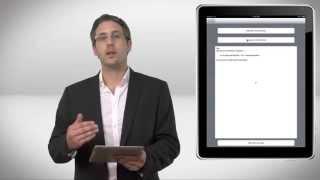 Matthieu présente sa solution mobile de prise commande