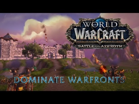 Warfronts Testing - Battle for Azeroth Alpha   World of Warcraft