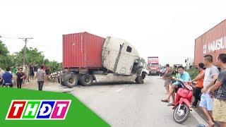 Tai nạn giao thông ở Hải Dương gây ùn tắc kéo dài | THDT