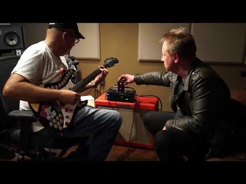 One Control BLACKBERRY BASS OVERDRIVE BJFe with Bjorn Juhl and Bobby DeVito demo