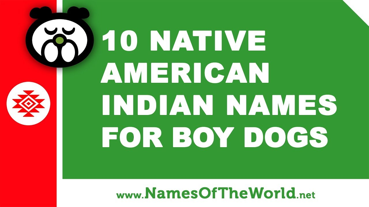 10 Native American Indian Names For Boy