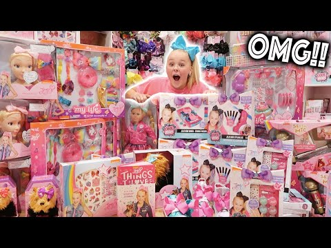 I CAN'T BELIEVE MY MOM DID THIS!! **HUGE JOJO MERCH SURPRISE**