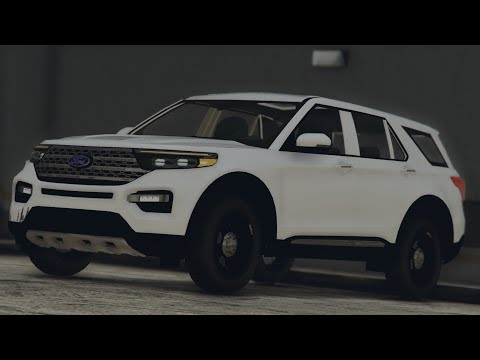 2020 Ford Explorer - Grand Theft Auto V - Development model (Work in Progress)