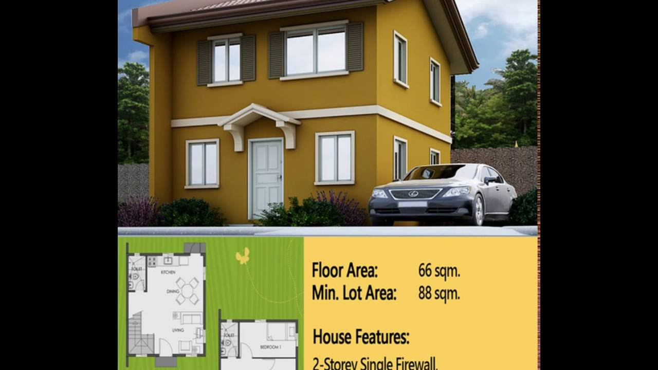 Cara Easy Homes Series Camella House Model In Camella