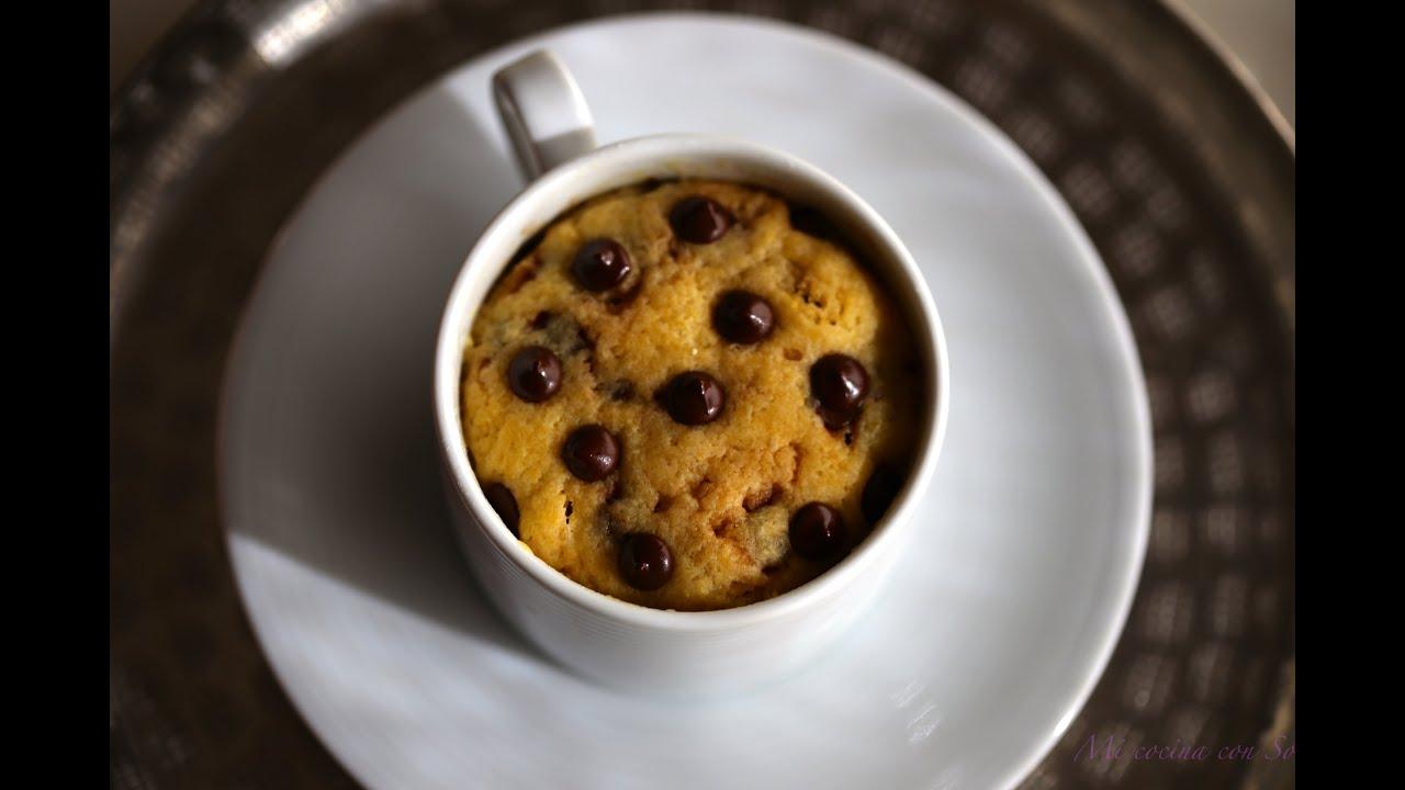 Mug Cake Video Receta