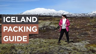 What To Pack For A Visit To Iceland (WINTER) | Sonia Nicolson