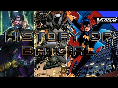 History Of All The Batgirls!