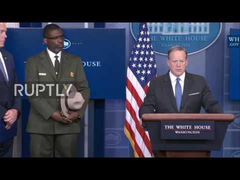 USA: Trump donates first quarter salary to National Park Service