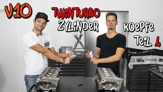 Die 40 Ventiler Zylinderköpfe für den Lamborghini V10 Motor! LP-X Projekt Folge 9 | Philipp Kaess |