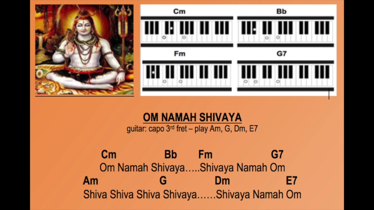 Om Namah Shivaya (Practice Track for Harmonium and Guitar)