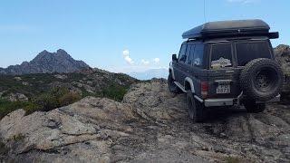 Corsica Sardinia 4x4 off-road trip