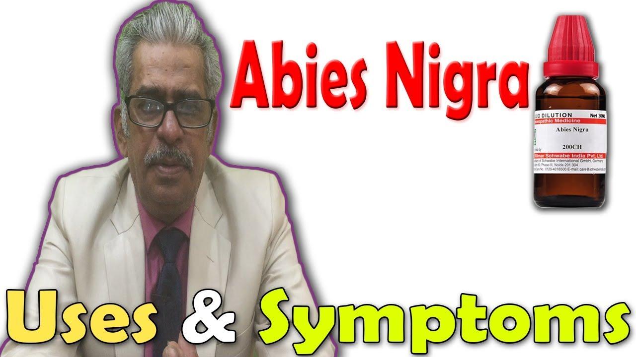 Abies Nigra Uses Symptoms By Dr P S Tiwari Youtube