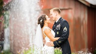 Willow Tree Dayton Wedding Photography // Jamie and AJ's Montage