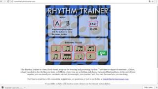 Tutorial do Rhythm Trainer
