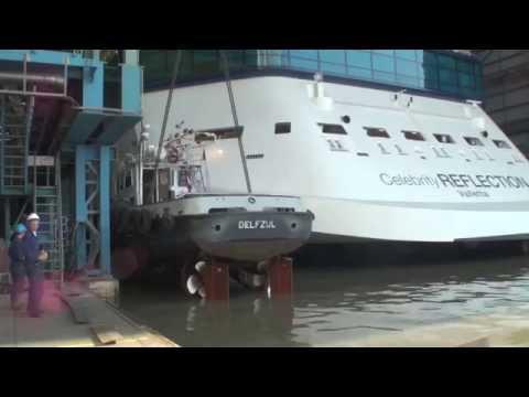 Celebrity Reflection lascia il cantiere navale