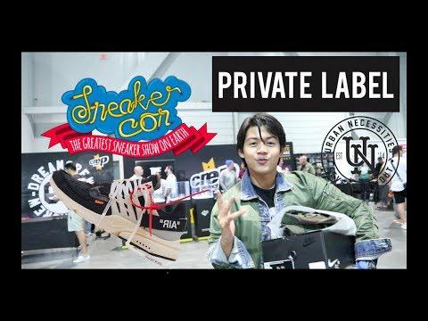SNEAKERCON 2017 VEGAS | Ft.  Private Label, Blazendary, Qias, etc.