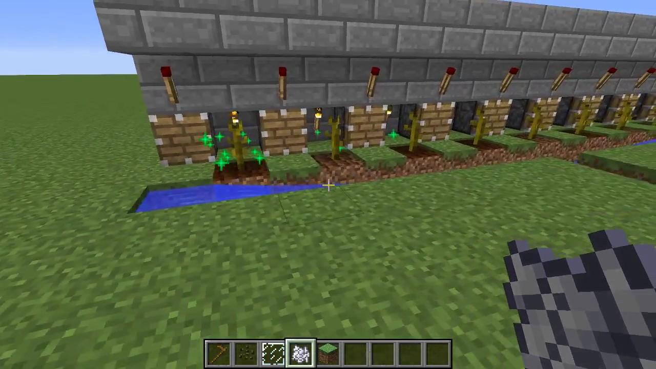 видео как сделать автоматичческую ферму арбузов в майнкрафт