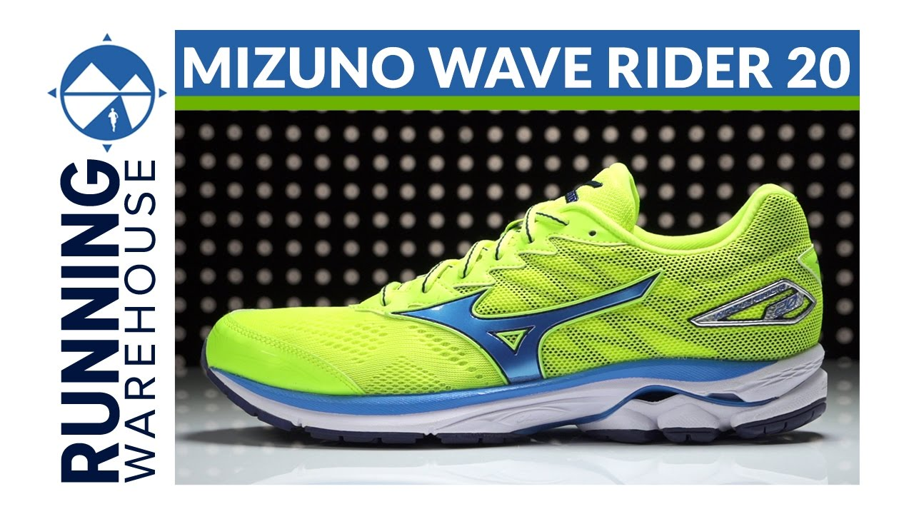 mizuno wave rider 20 vs