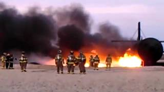 Class B Fuel Fires Part 2 At Lubbock Area Training 2012