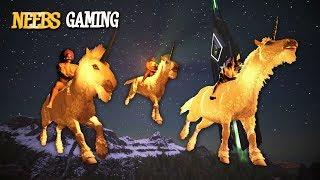 Ark: Survival Evolved - High on Unicorns!!!