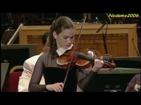 Hilary Hahn Bach Violin Sonata no.1 presto (4/4)