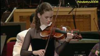 Hilary Hahn Bach Violin Sonata no.1 presto (4/4)