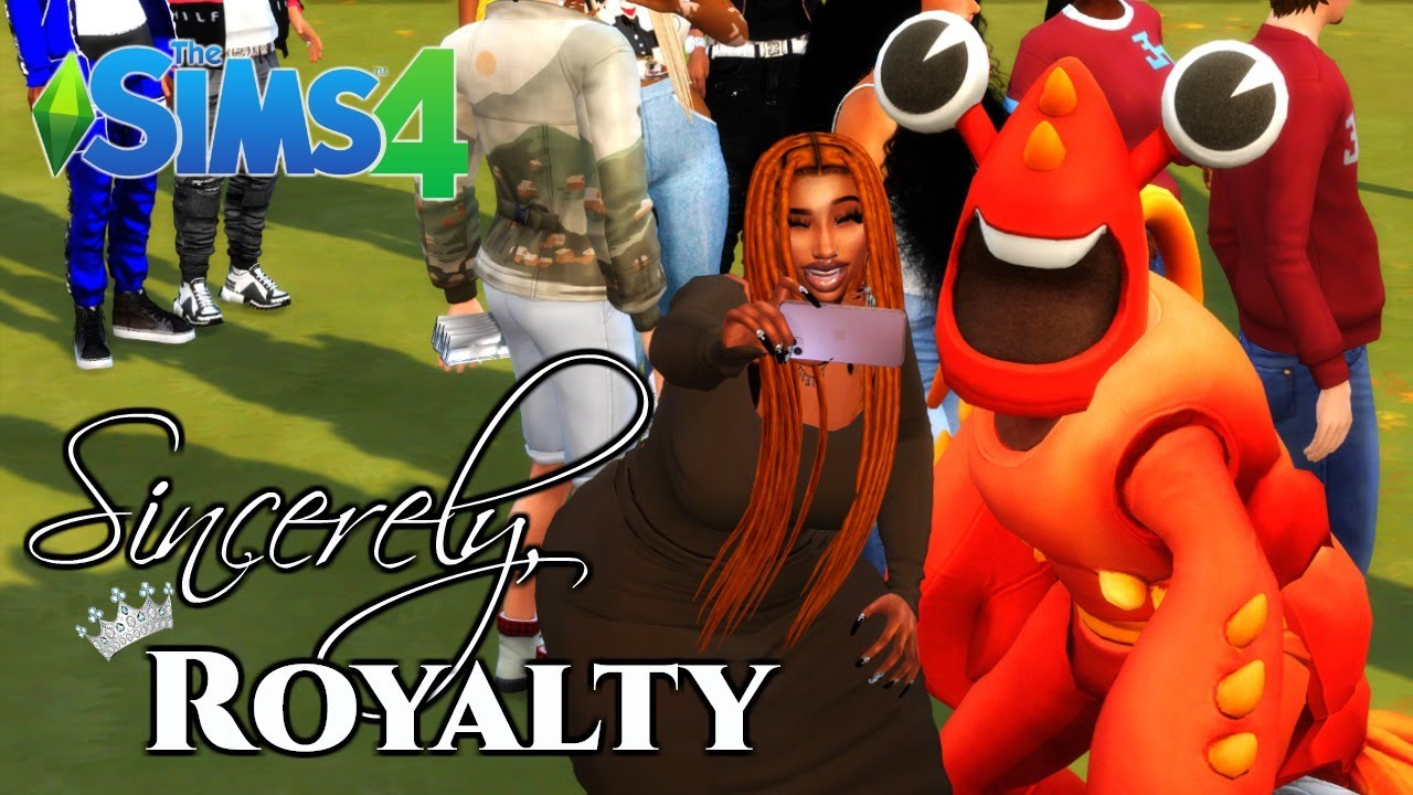 LIVING THAT HBCU LIFE! // SINCERELY, ROYALTY | THE SIMS 4 LP #9
