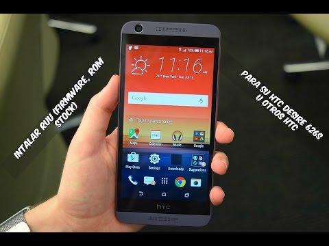 Instalar Ruu (Firmware, Rom Stock) Para Su HTC Desire 626s U Otros HTC