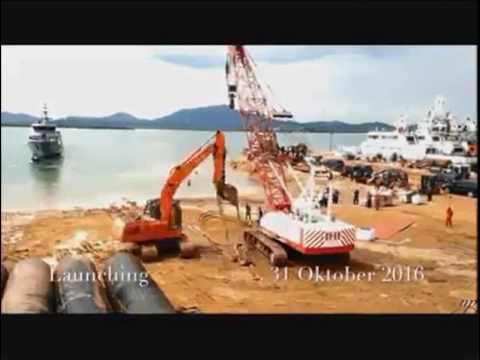 Indonesian made 40 meters Patrol Boats -  PT. Karimun Anugrah Sejati