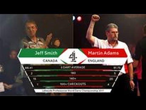 2017 BDO World Darts Championship Round 2  J.Smith vs Adams