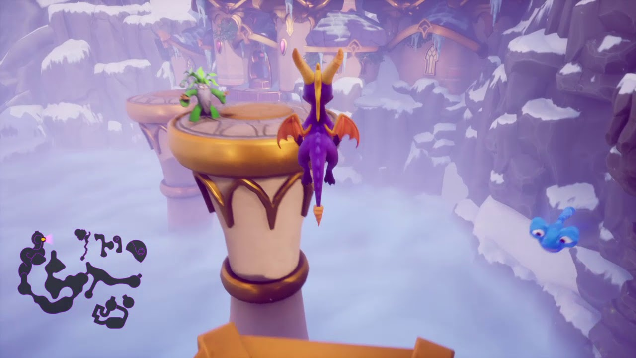 Spyro Reignited Trilogy High Caves Hidden Painting Youtube