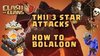259. Clash of clans 2017 | How to attack like a PRO | Legend Farming with Bolaloon.