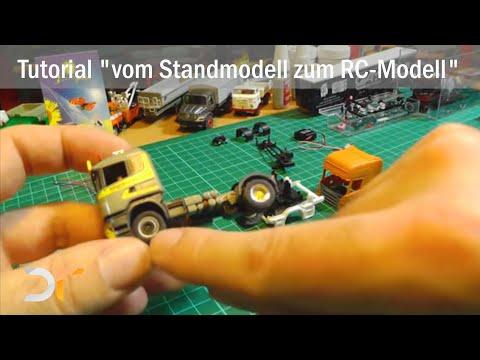 "Tutorial ""vom Standmodell zum RC-Modell"" Teil 1 | RC 1:87"