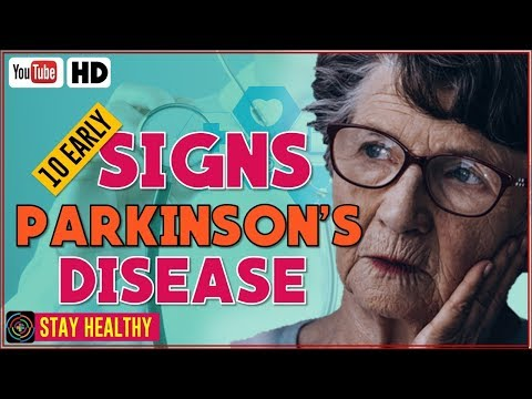 10 Early Warning Signs Of Parkinson's Disease
