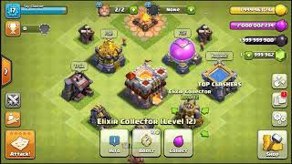 60 level Barbarian king vs Level 60 Archer Queen , clash of clans battle