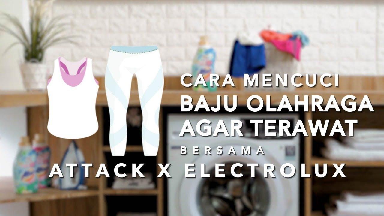 Cara Mencuci Baju Olahraga Dengan Mesin Cuci Electrolux Ultraeco 7 5kg Youtube