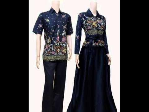 20 Model Baju Batik Muslim Couple Terbaru  UPDATE 2016!