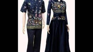 20 model baju batik muslim couple terbaru update 2016