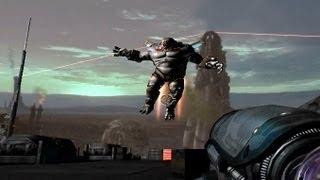 Quake 4 All boss fights ending
