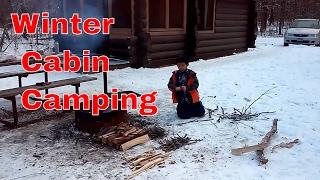 Winter Camping in Minnesota!