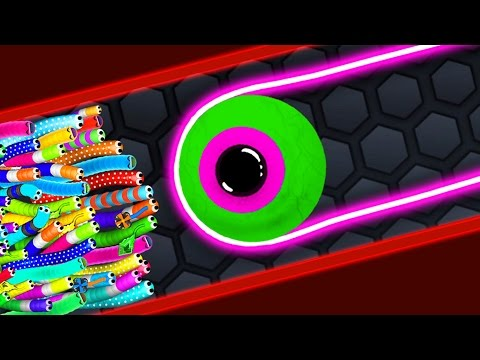 Thumbnail: Slither.io - HACKER STRONG SNAKE vs 94500 SNAKES / Epic Slitherio Gameplay (Slitherio Funny Moments)