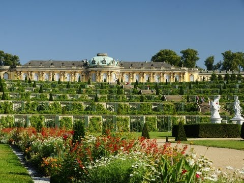 Sanssouci Palace. Potsdam, Germany