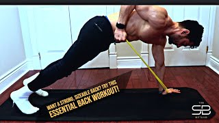 Week 8 - Most Effecive 45 Min. Back Tabata Style Workout!! (RAW and UNCUT)