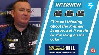 Glen Durrant ON THE VERGE on Premier League after Gurney win?