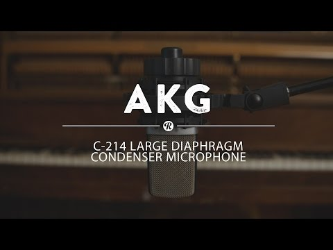 AKG C214 Large Diaphragm Condenser Microphone | Reverb Demo Video