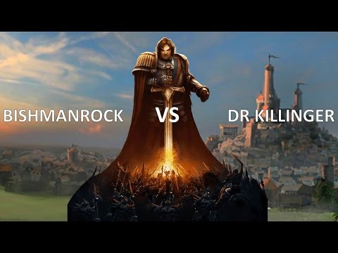 Age of Wonders 3 Tournament Game - Bishmanrock vs Fjordus \ DrKillinger