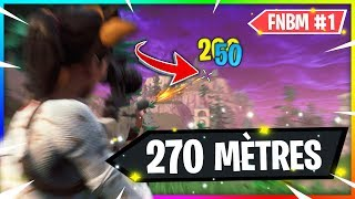 RECORD : SNIPER 270 MÈTRES ✔ | NO SCOPE | 1VS5 | +RAGE xD ! FNBM #1
