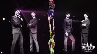 Video The Beatles LOVE by Cirque du Soleil | Get Back download MP3, 3GP, MP4, WEBM, AVI, FLV Agustus 2018
