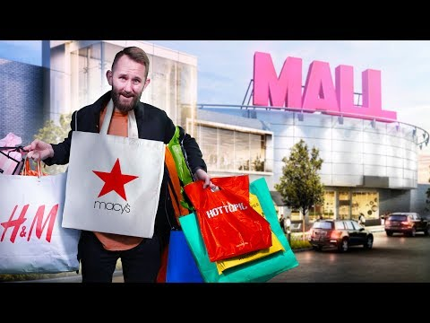 We Bought 1 Item From Every Store In the Mall!